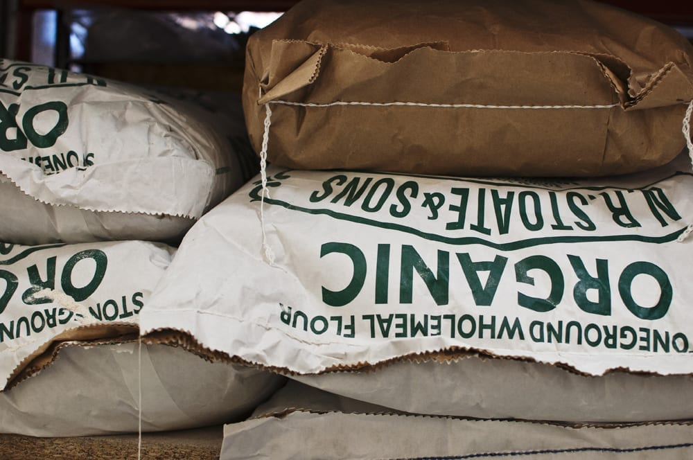 Stoneground Flour from Cann Mill and Shipton Mill
