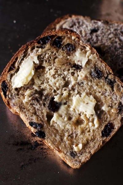 Cinnamon Walnut Toast